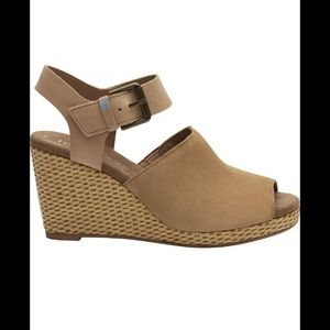 New tropes honey suede leather toms